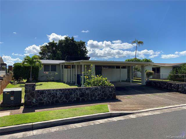 827 Hoomoana Street, Pearl City, HI 96782 (MLS #201932868) :: Maxey Homes Hawaii