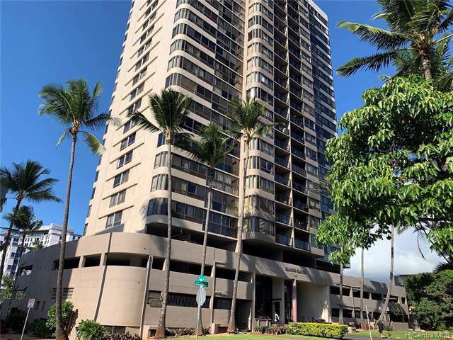 2724 Kahoaloha Lane #1505, Honolulu, HI 96826 (MLS #201933189) :: Keller Williams Honolulu