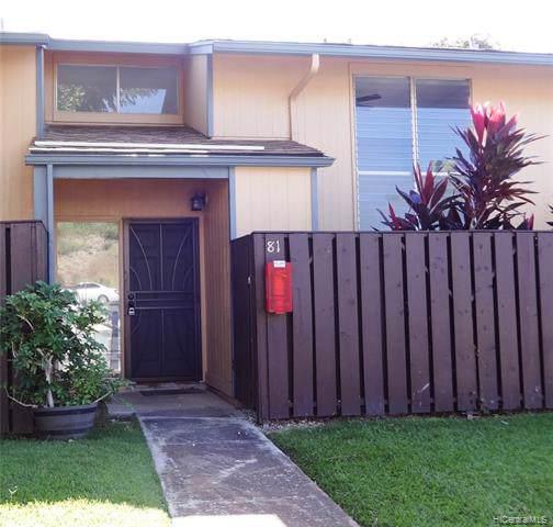 92-950 Makakilo Drive #81, Kapolei, HI 96707 (MLS #201933720) :: Barnes Hawaii