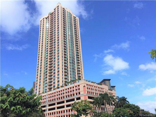 801 S King Street #3108, Honolulu, HI 96813 (MLS #201933835) :: Team Lally