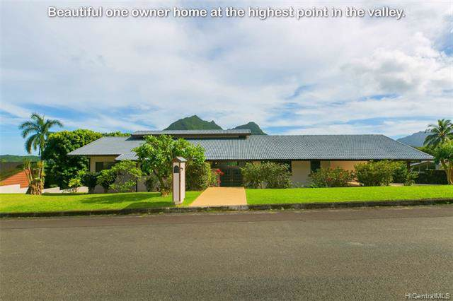 1345 Lopaka Place, Kailua, HI 96734 (MLS #201935748) :: Team Lally