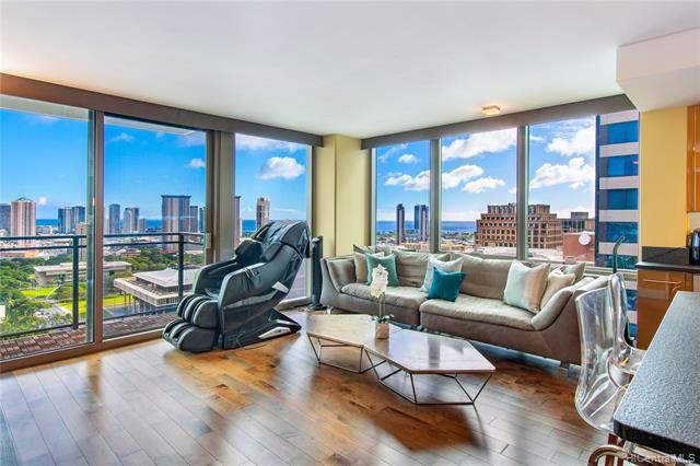 1200 Queen Emma Street #2802, Honolulu, HI 96813 (MLS #202000581) :: Elite Pacific Properties