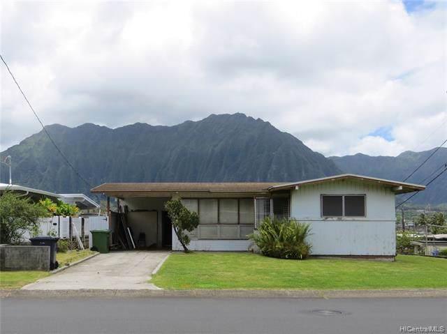 45-223 Mokulele Drive, Kaneohe, HI 96744 (MLS #202000763) :: The Ihara Team