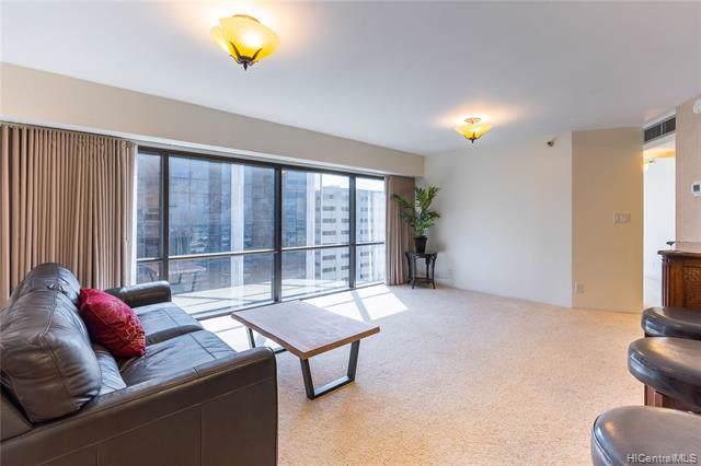 1088 Bishop Street #3707, Honolulu, HI 96813 (MLS #202000865) :: Elite Pacific Properties