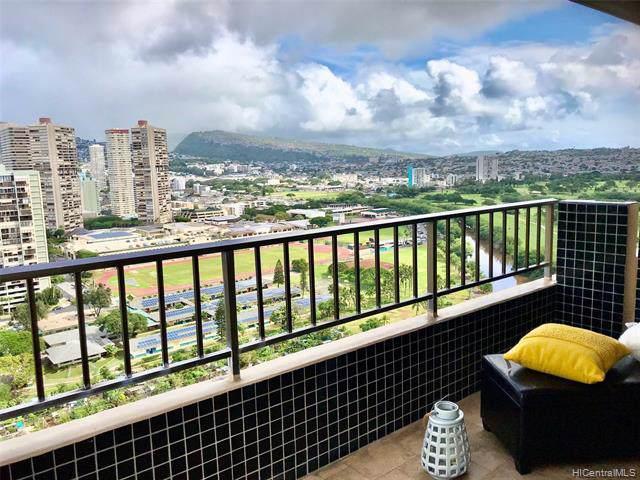 2121 Ala Wai Boulevard #2701, Honolulu, HI 96815 (MLS #202000940) :: Keller Williams Honolulu
