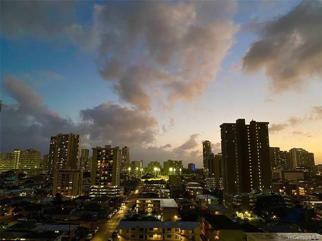 2121 Algaroba Street #1107, Honolulu, HI 96826 (MLS #202001043) :: Team Lally
