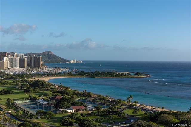 1118 Ala Moana Boulevard #2300, Honolulu, HI 96814 (MLS #202001172) :: Elite Pacific Properties