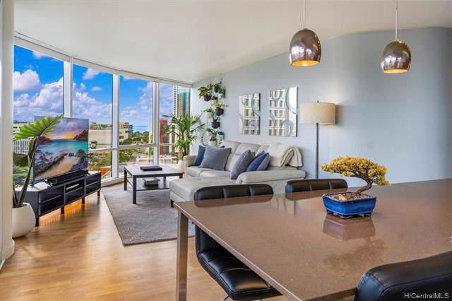 1296 Kapiolani Boulevard Ii-1203, Honolulu, HI 96814 (MLS #202001216) :: The Ihara Team