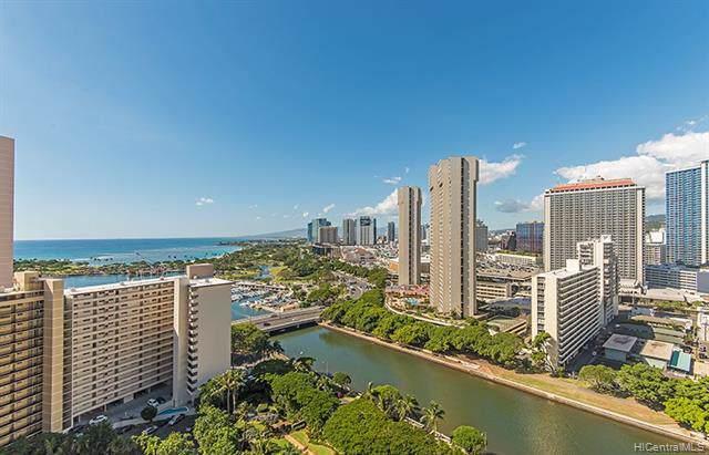1551 Ala Wai Boulevard #2205, Honolulu, HI 96815 (MLS #202001294) :: Barnes Hawaii