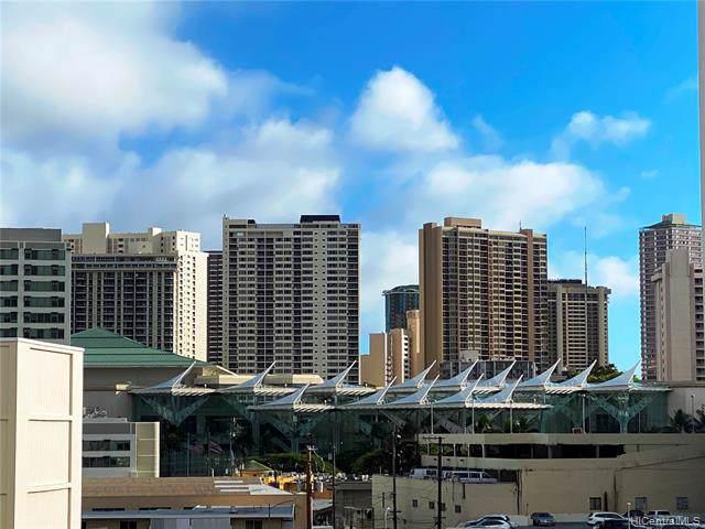 1650 Kanunu Street #601, Honolulu, HI 96814 (MLS #202001319) :: Barnes Hawaii
