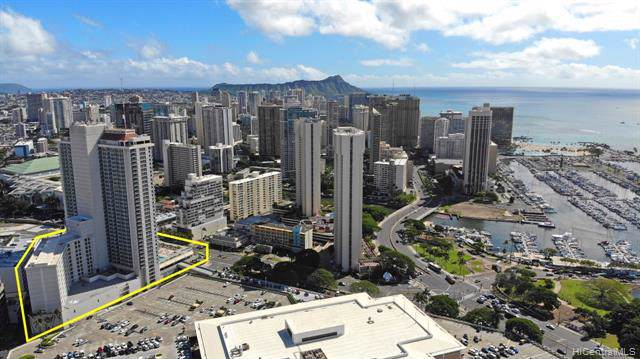 410 Atkinson Drive #903, Honolulu, HI 96814 (MLS #202001448) :: Barnes Hawaii
