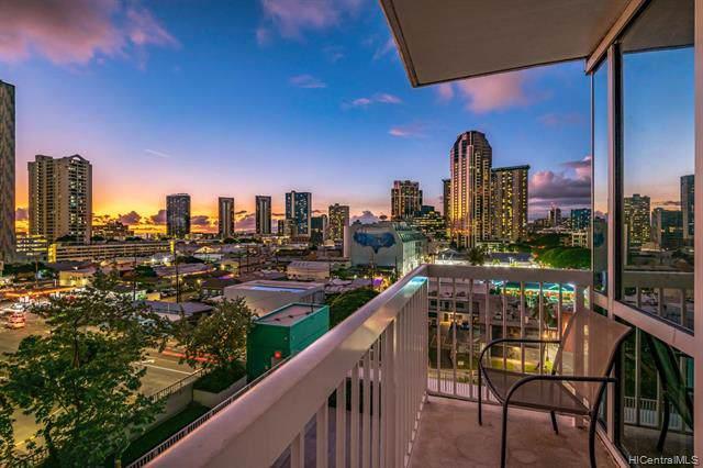 909 Kapiolani Boulevard #904, Honolulu, HI 96814 (MLS #202001654) :: Elite Pacific Properties
