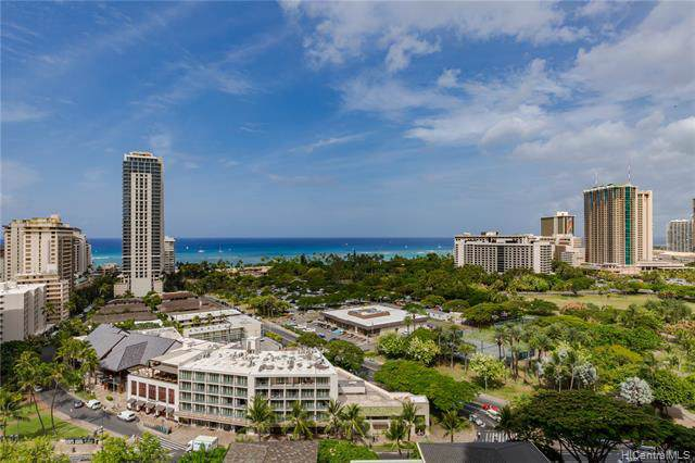 383 Kalaimoku Street E1816 (Tower 1), Honolulu, HI 96815 (MLS #202001673) :: Barnes Hawaii