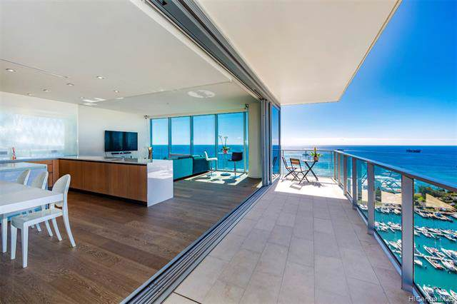 1118 Ala Moana Boulevard #3001, Honolulu, HI 96814 (MLS #202001718) :: Elite Pacific Properties