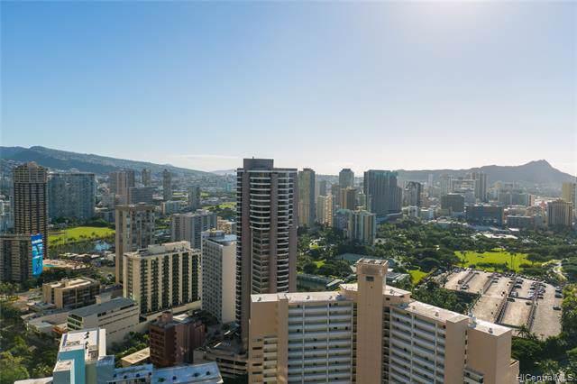 343 Hobron Lane #4402, Honolulu, HI 96815 (MLS #202001857) :: Elite Pacific Properties