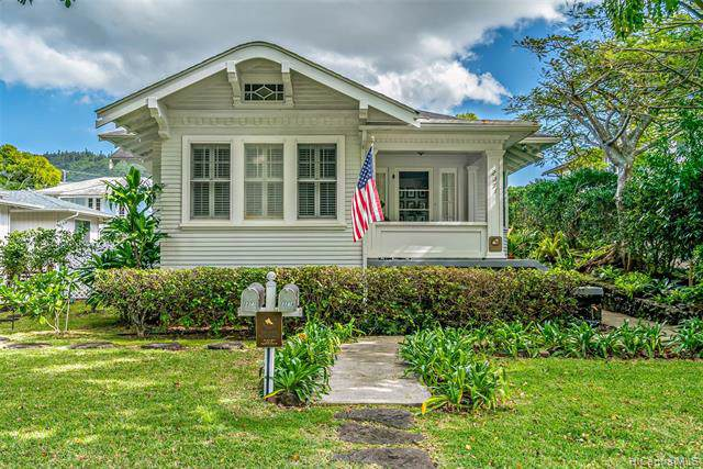 2371 Oahu Avenue, Honolulu, HI 96822 (MLS #202001907) :: Elite Pacific Properties