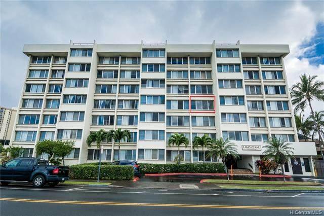 5122 Likini Street #406, Honolulu, HI 96818 (MLS #202003187) :: Elite Pacific Properties