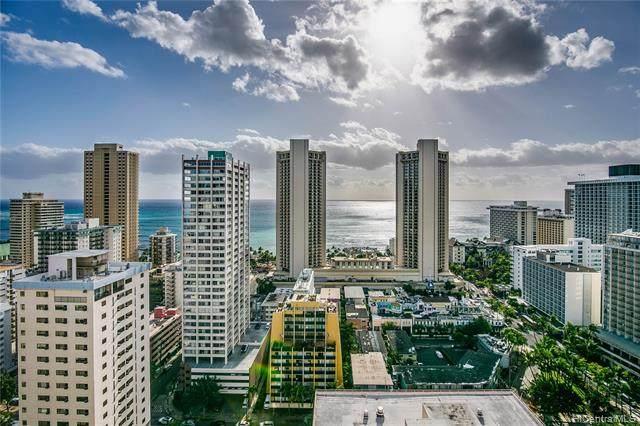 2410 Cleghorn Street #3003, Honolulu, HI 96815 (MLS #202003335) :: Keller Williams Honolulu