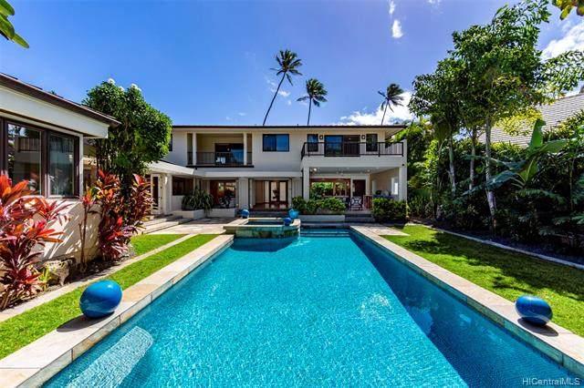 4714 Kahala Avenue, Honolulu, HI 96816 (MLS #202003483) :: Barnes Hawaii