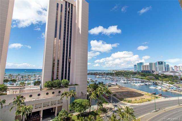 1690 Ala Moana Boulevard #1201, Honolulu, HI 96815 (MLS #202003571) :: Keller Williams Honolulu