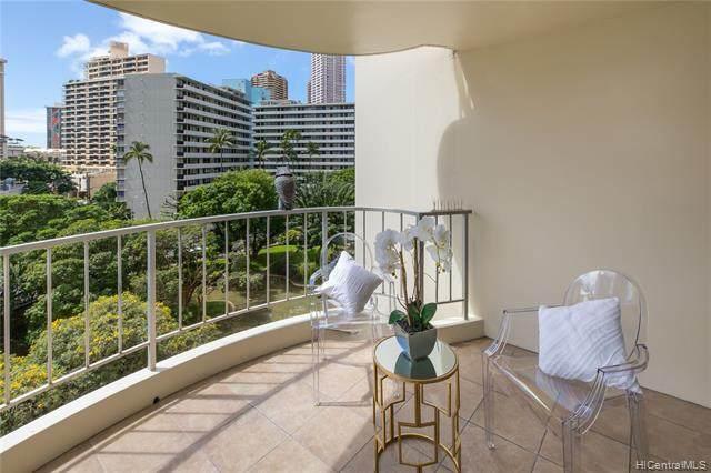 469 Ena Road #711, Honolulu, HI 96815 (MLS #202003689) :: Keller Williams Honolulu