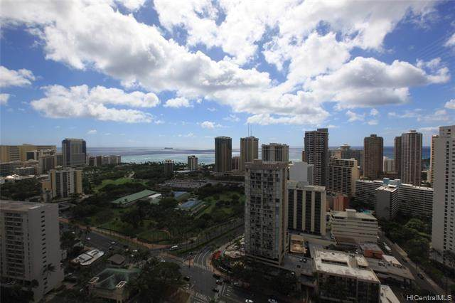 444 Niu Street #3702, Honolulu, HI 96815 (MLS #202003851) :: The Ihara Team