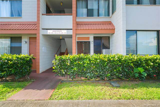 1105 Acacia Road #111, Pearl City, HI 96782 (MLS #202003936) :: The Ihara Team