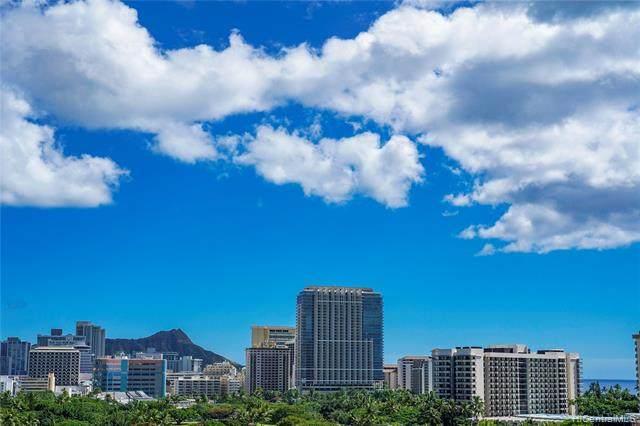 1860 Ala Moana Boulevard #1105, Honolulu, HI 96815 (MLS #202003944) :: Team Lally