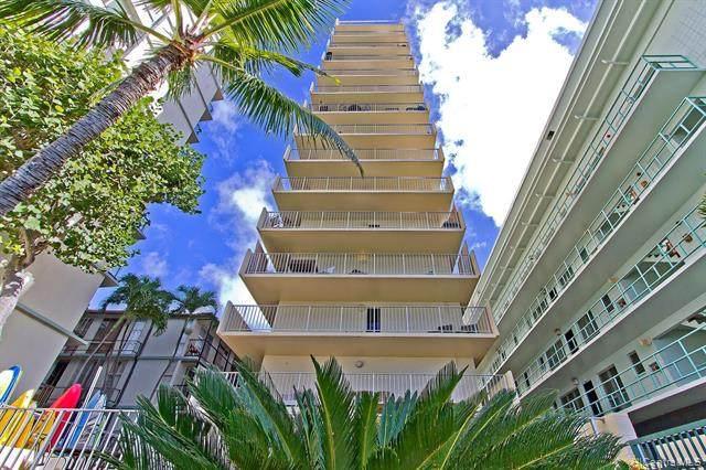 2947 Kalakaua Avenue #1102, Honolulu, HI 96815 (MLS #202004612) :: Team Lally