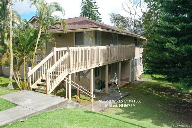 95-510 Wikao Street K106, Mililani, HI 96789 (MLS #202005138) :: Keller Williams Honolulu