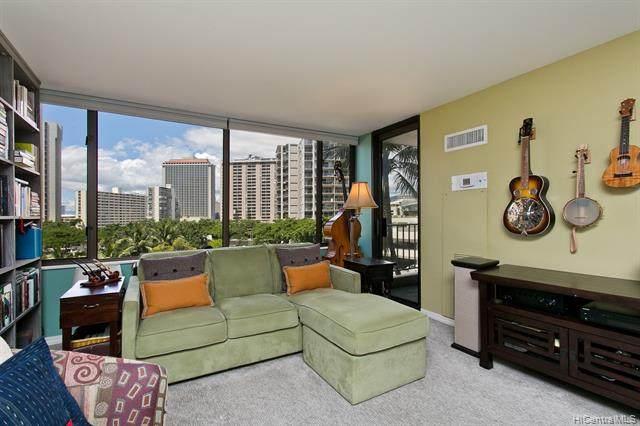 411 Hobron Lane #602, Honolulu, HI 96815 (MLS #202006355) :: Team Maxey Hawaii