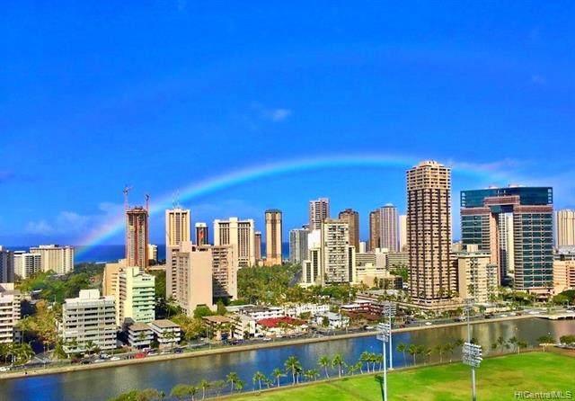 2333 Kapiolani Boulevard #2113, Honolulu, HI 96826 (MLS #202006432) :: Team Lally