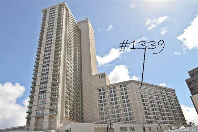 410 Atkinson Drive #1339, Honolulu, HI 96814 (MLS #202006604) :: Island Life Homes