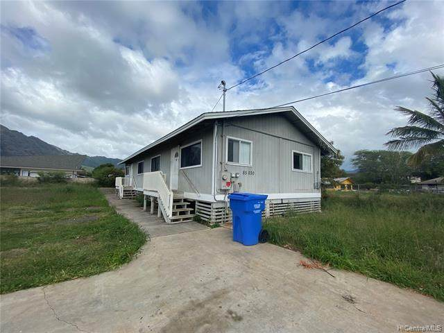 85-030 Farrington Highway, Waianae, HI 96792 (MLS #202006950) :: Team Lally
