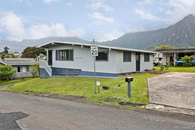 45-890 Luana Place, Kaneohe, HI 96744 (MLS #202007003) :: Team Maxey Hawaii