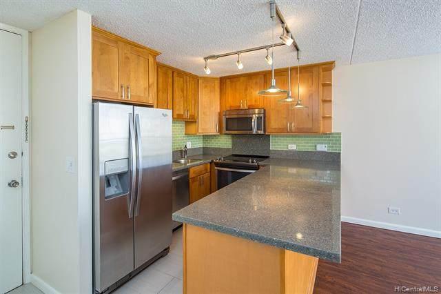 411 Hobron Lane #1607, Honolulu, HI 96815 (MLS #202007178) :: Keller Williams Honolulu