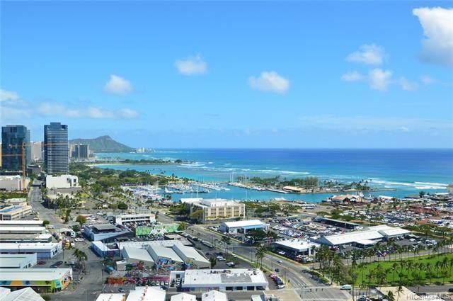 600 Ala Moana Boulevard #2905, Honolulu, HI 96813 (MLS #202007269) :: Team Lally