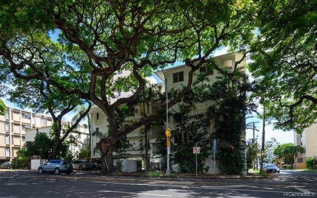 1425 Punahou Street #201, Honolulu, HI 96822 (MLS #202007380) :: Team Maxey Hawaii