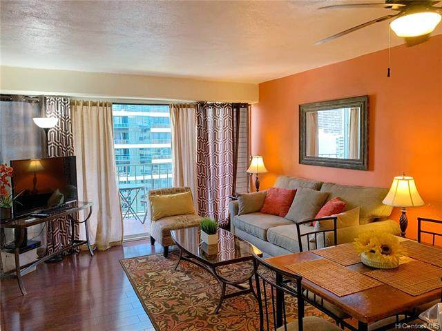 1909 Ala Wai Boulevard #1508, Honolulu, HI 96815 (MLS #202007422) :: Elite Pacific Properties
