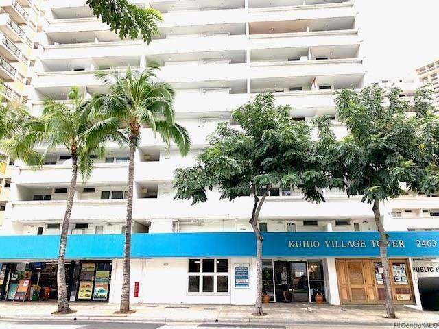 2463 Kuhio Avenue #603, Honolulu, HI 96815 (MLS #202007502) :: Team Lally