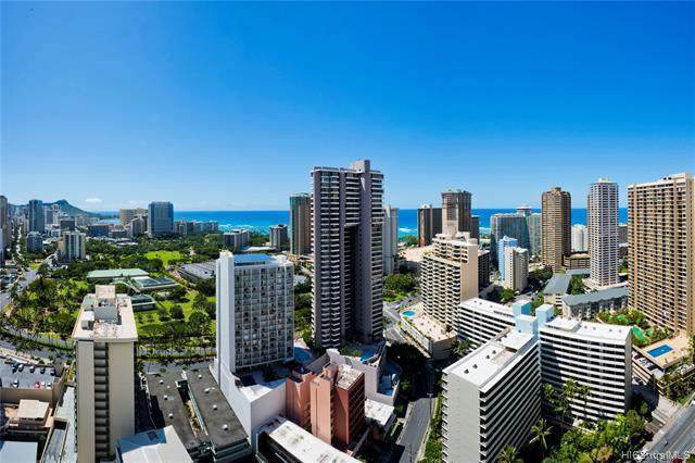 469 Ena Road #3410, Honolulu, HI 96815 (MLS #202007504) :: Team Maxey Hawaii