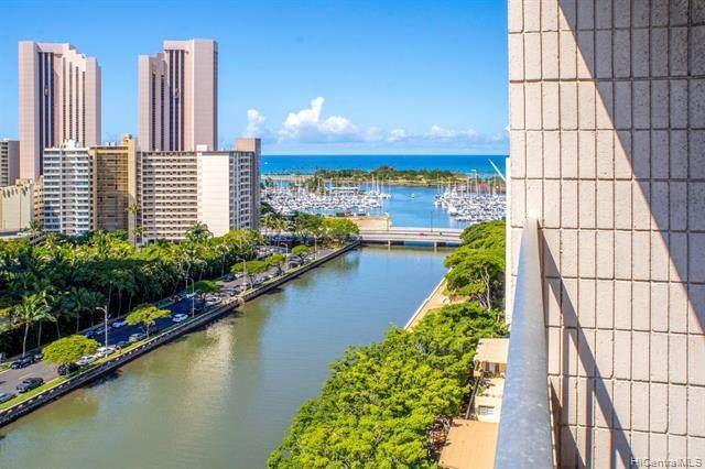 1848 Kahakai Drive #1702, Honolulu, HI 96814 (MLS #202007698) :: Barnes Hawaii