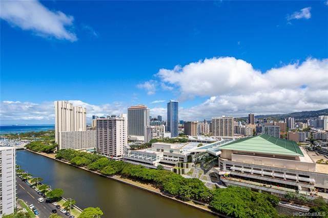 1717 Ala Wai Boulevard #2205, Honolulu, HI 96815 (MLS #202011316) :: Team Lally