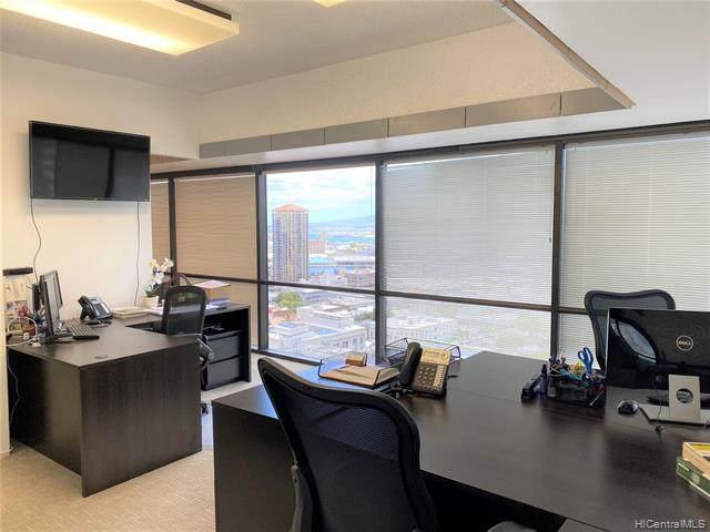 1188 Bishop Street #2208, Honolulu, HI 96813 (MLS #202011393) :: Elite Pacific Properties