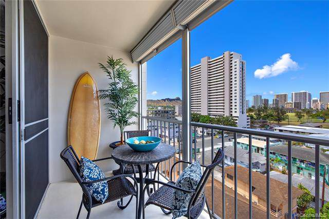 754 Ekela Avenue #808, Honolulu, HI 96816 (MLS #202011573) :: The Ihara Team