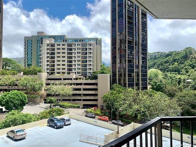 55 S Judd Street #808, Honolulu, HI 96817 (MLS #202011613) :: The Ihara Team