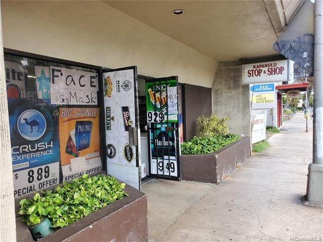 465 Kapahulu Avenue #107, Honolulu, HI 96815 (MLS #202011894) :: Elite Pacific Properties