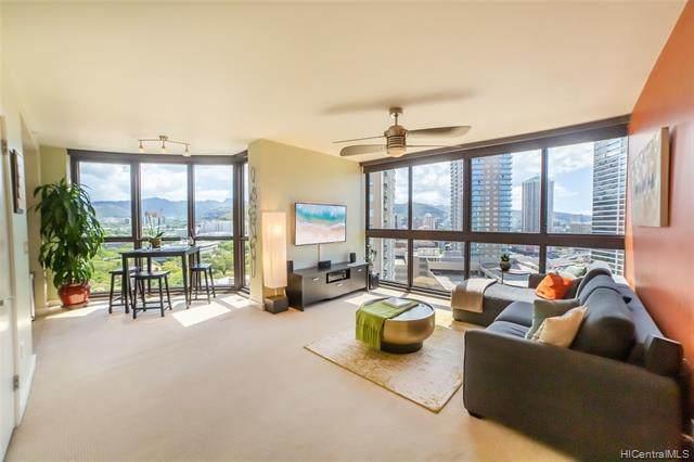 600 Queen Street #1801, Honolulu, HI 96813 (MLS #202011901) :: Elite Pacific Properties