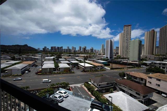 2630 Kapiolani Boulevard #802, Honolulu, HI 96826 (MLS #202012201) :: Team Lally