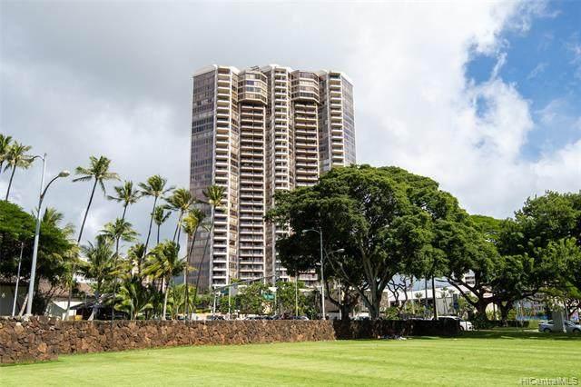 1221 Victoria Street #3301, Honolulu, HI 96814 (MLS #202012463) :: Keller Williams Honolulu